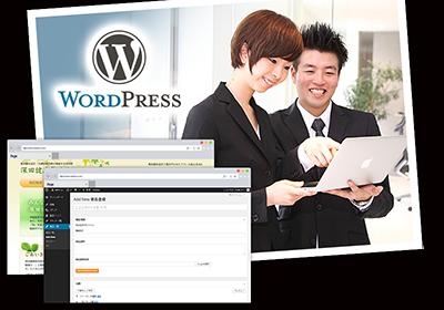 WordPressを使用したブログ、CMSサイト構築
